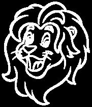 MCF-lion-head-white