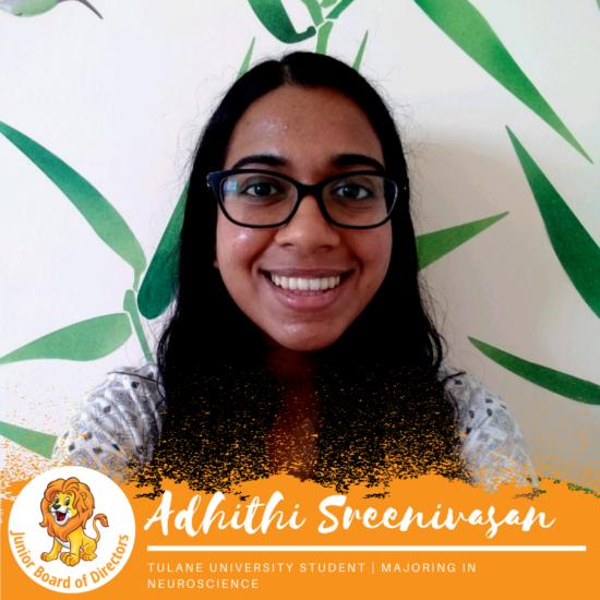 Junior Board Member | Adhithi Sreenivasan