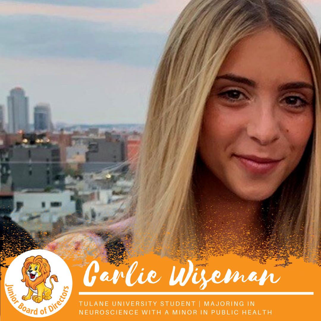 Junior Board Member | Carlie Wiseman