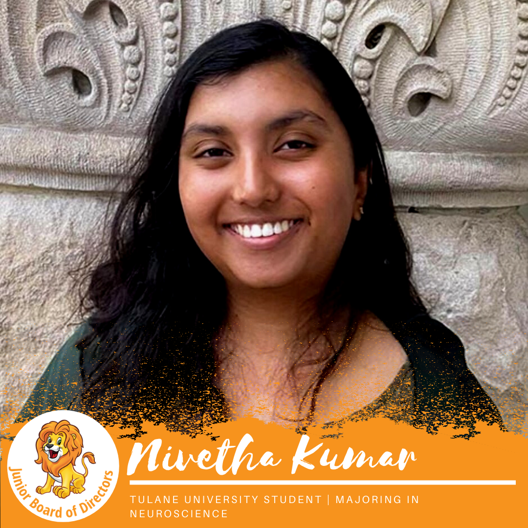 Junior Board Member | Nivetha Kumar